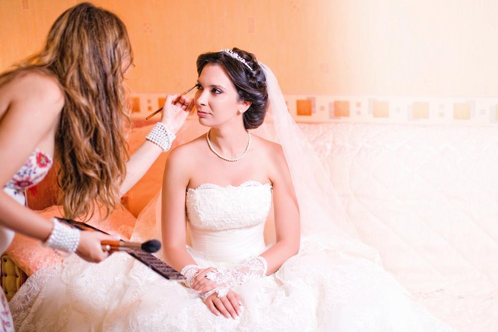 сватбен грим от Марина Братан